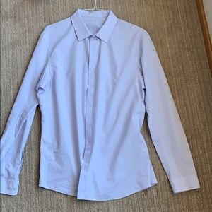 Men's Lululemon Down to the Wire button down shirt